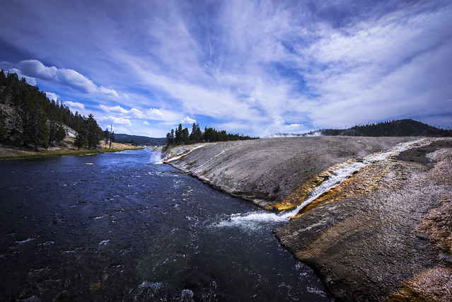Firehole River - Yellowstone National Park - Wyoming