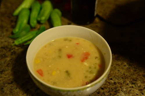 ten soups project: ham and corn chowder | by minervacat