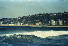 Surreal Grainy Surfing at North Narrabeen