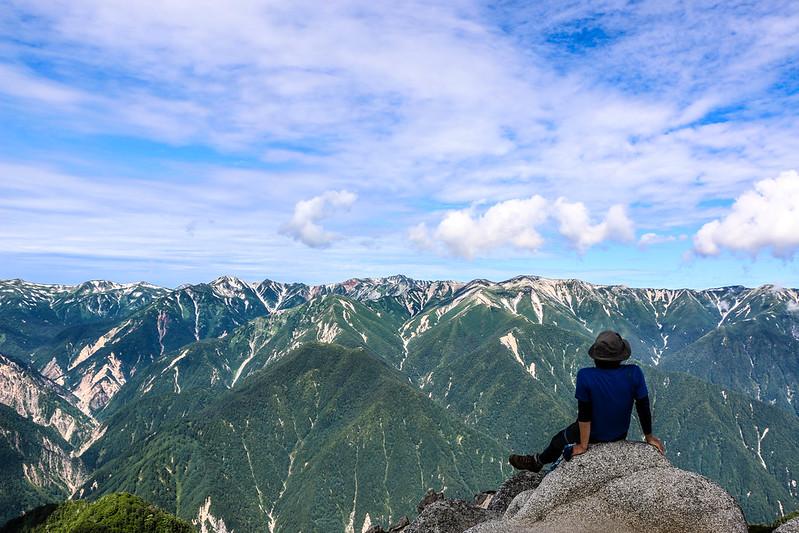 絶景の燕岳