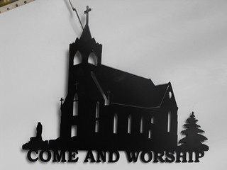come worship church | by providencemetalart
