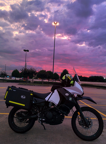 sunrise apollo klr650