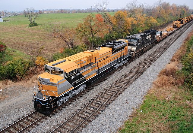 EMDX 1201 (SD70ACe) Danville, Kentucky