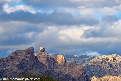 santa catalina mountains thimble peak arizona snow tucson santacatalinamountains thimblepeak