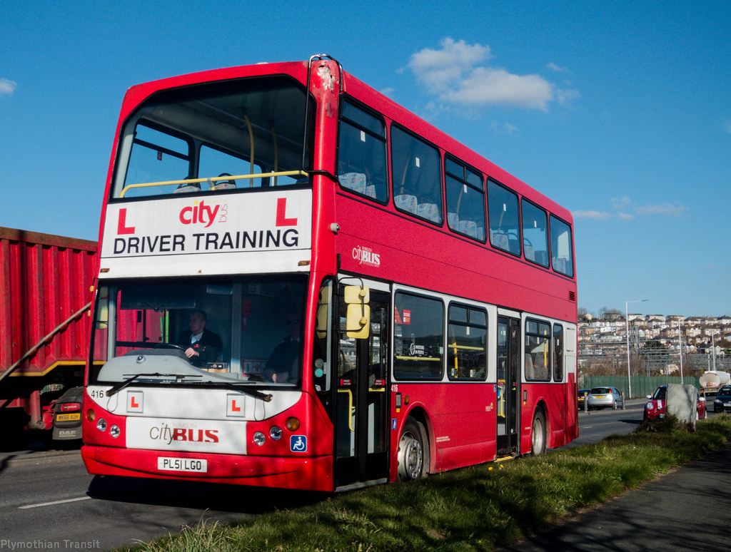 Plymouth Citybus 416 PL51LGO