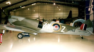 RAF Supermarine Spitfire ZX Z WWII fighter Lone Star Flight Museum 02_7_AI | by wbaiv