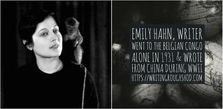 EMILY HAHN #100travelHERS | by sandrakaybee