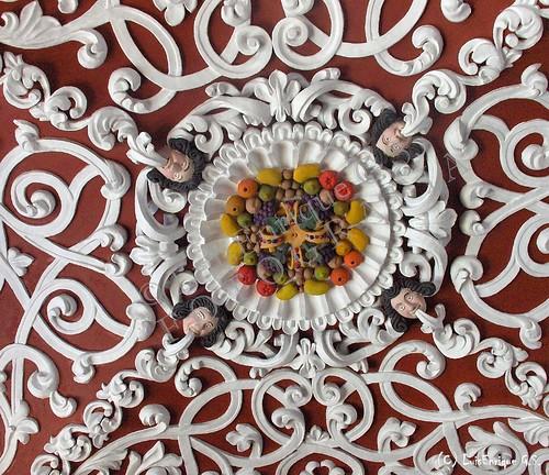 Capilla de la Tercer Orden - Decorado del Techo - Puebla - México - Barroco