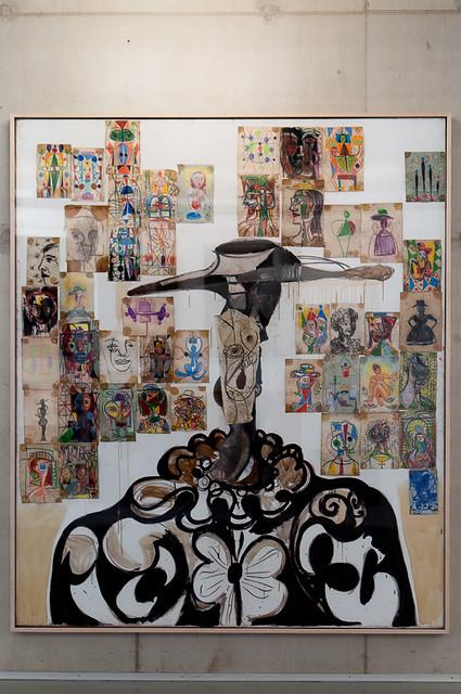 George Condo - Spanish Head Composition, 1988