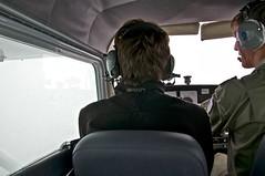 Cloudy VFR in a Cessna 172