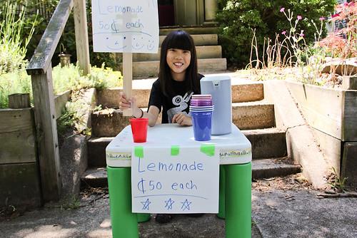 Child Entrepreneur Lemonade Stand 50 Cents Each Qiqi Lourdie June 24, 20111 | by stevendepolo
