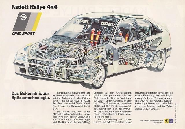 1985 Kadett Rallye 4X4