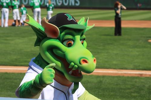 Dayton Dragons Baseball: Dayton, Ohio