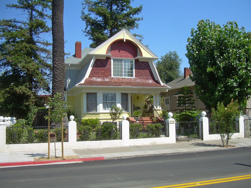 Dutch Colonial Revival House San Jose California Flickr