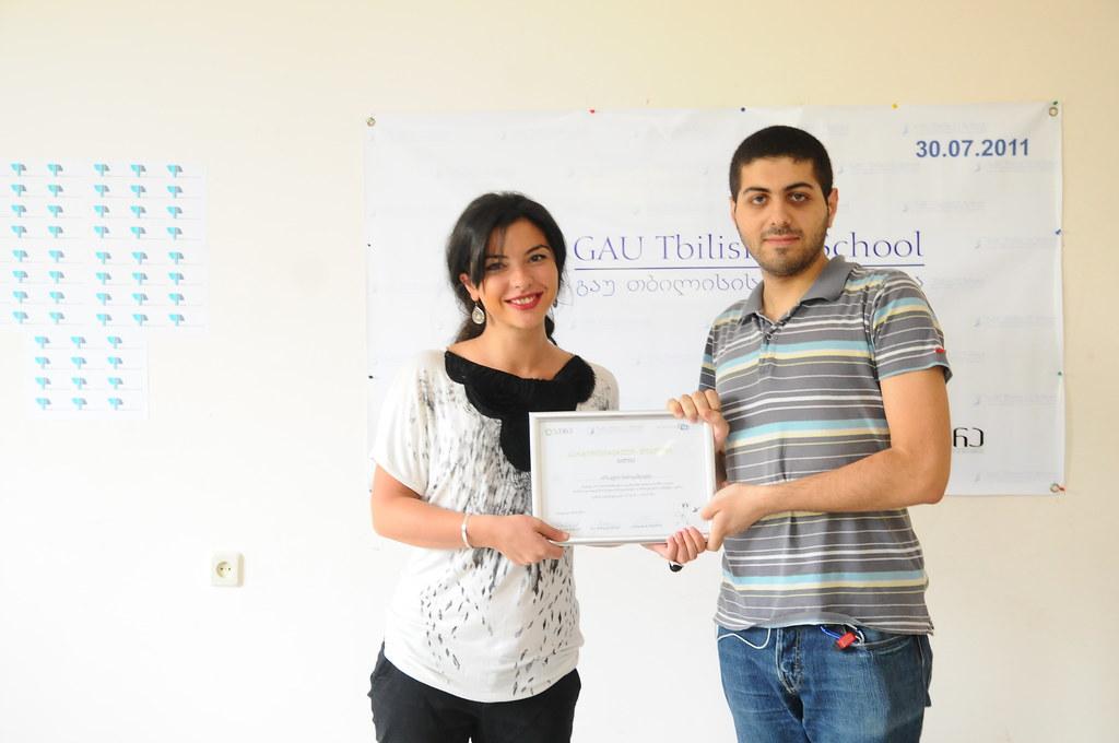 Graduate of PRSchool IMC April 2011