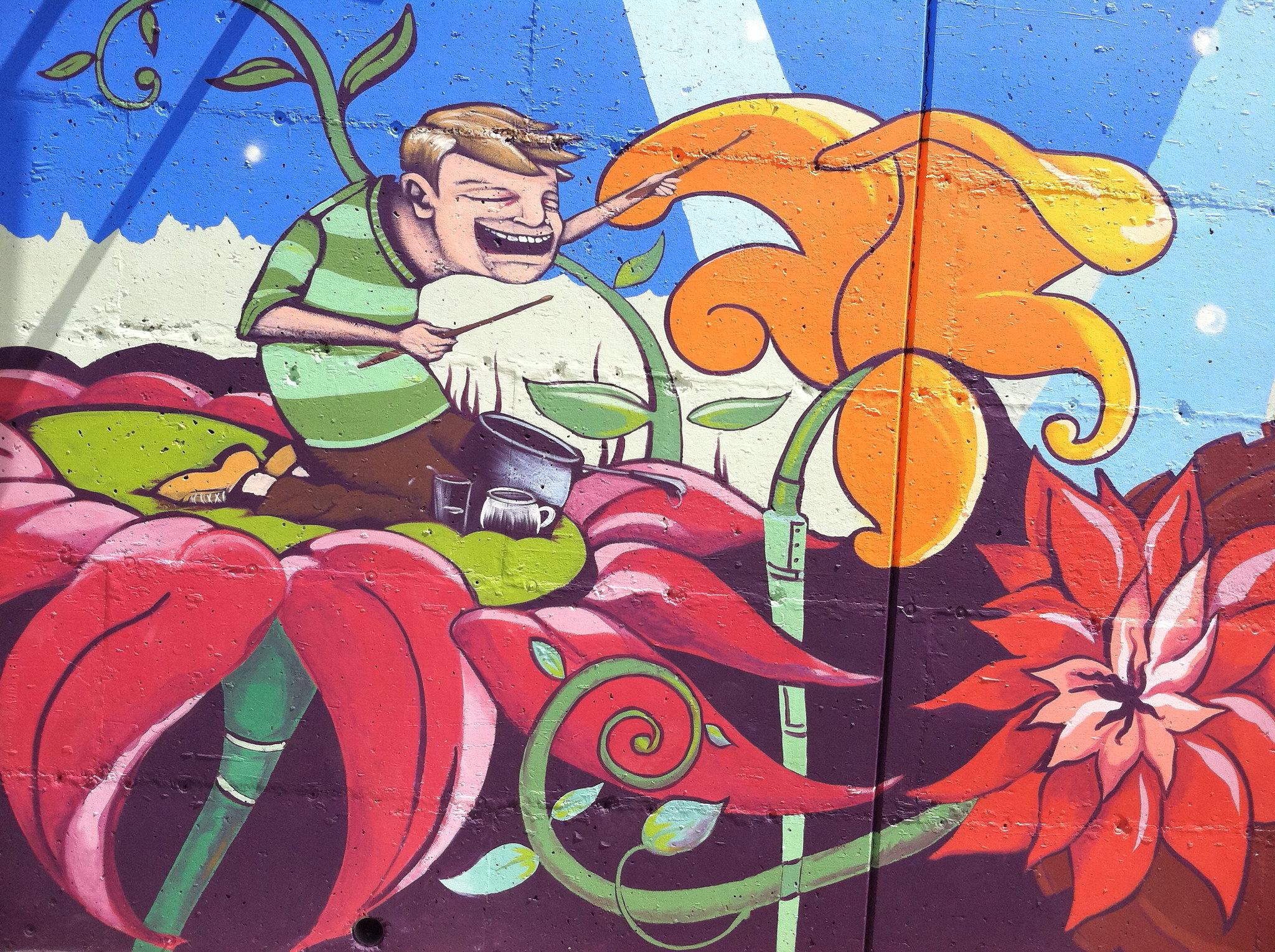Bergerson Terrace Mural 2011