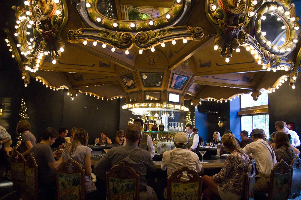 Le Carousel Bar à l'hôtel Monteleone à la Nouvelle-Orléans