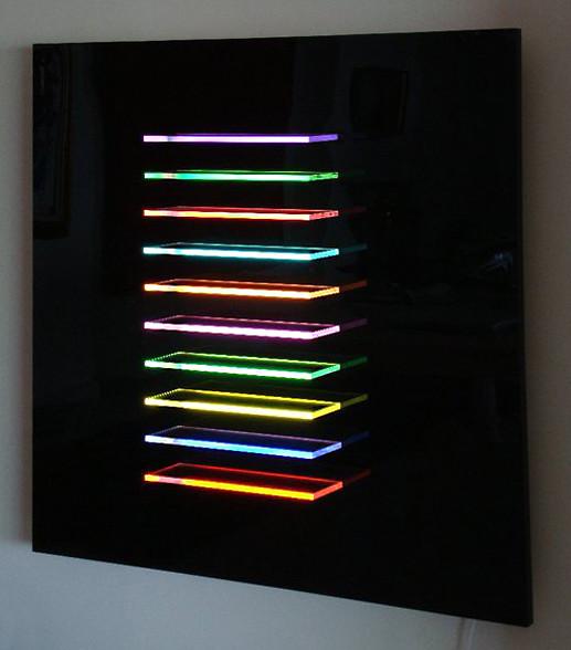 Edge Lit Acrylic Display Light Tape | Light Tape® www lightt… | Flickr
