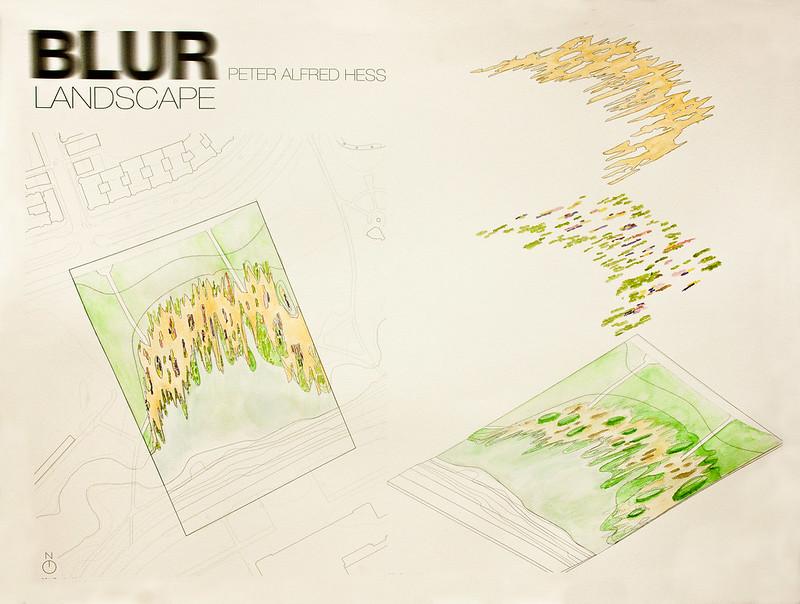 BLUR Landscape Plan & Axon