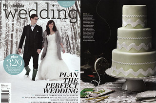 Philadelphia Wedding: Fall Winter 2011 Issue | by Whipped Bakeshop
