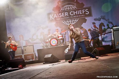 Kaiser Chiefs | by Frozenpanda.com - Daniel Nielsen Photography