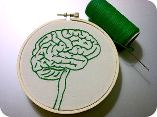 Brain Embroidery | by Hey Paul Studios