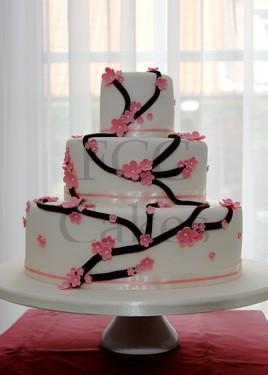 Gateau de mariage japonais