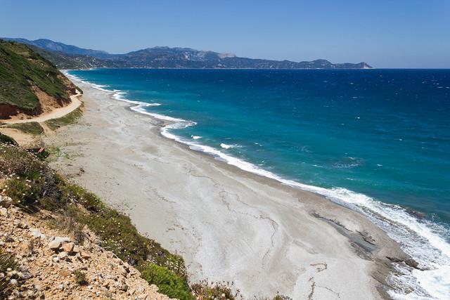 Northern Mourteri beach, Evia