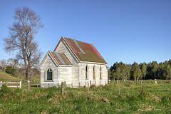 Old church, Otuhianga Road, Matakohe, Northland, New Zealand