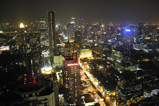 Bangkok : Moon bar view | by -AX-