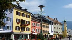 Центральная площадь в городе Lienz