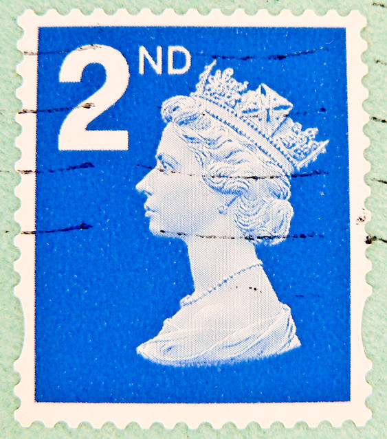 stamp Great Britain Machin 2nd class Queen Elizabeth stamp GB England UK แสตมป์ บริเตนใหญ่ pulları İngiltere frimärken Storbritannien टिकटों ग्रेट ब्रिटेन इंग्लैंड timbre postes postage selo sello UK GB francobolli United Kingdom Briefmarken England 2nd