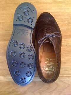 Dainite sole repair | by GoodyearWelted