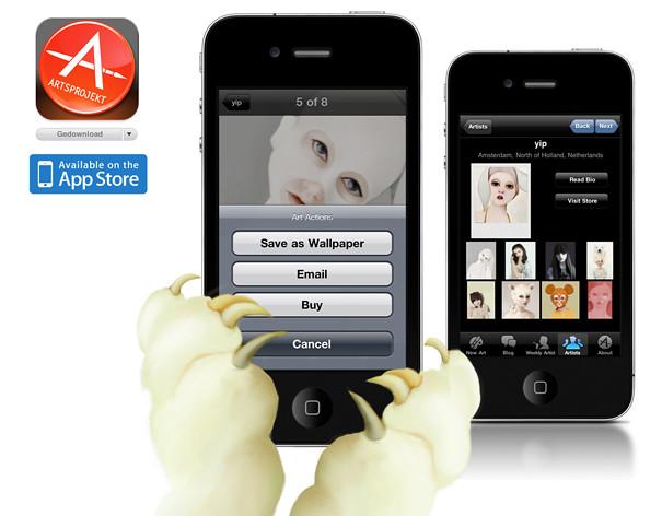 iPhone Yipi!! Artsprojekt