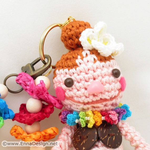 Amigurumi Princess Set,mini crochet doll,kawaii crochet,keychain ... | 570x570