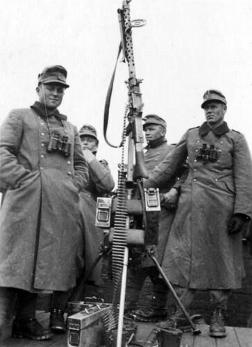 Maskingeværstilling 1940