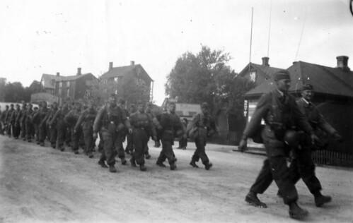 Fallskjermjegere i Narvik 1940