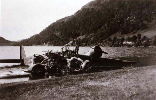 Tysk fly etter kampene om Narvik