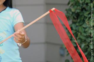ribbon + balsa   by Patricia Zapata
