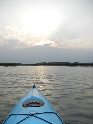 beach sunrise southcarolina saltmarsh seakayaking huntingisland