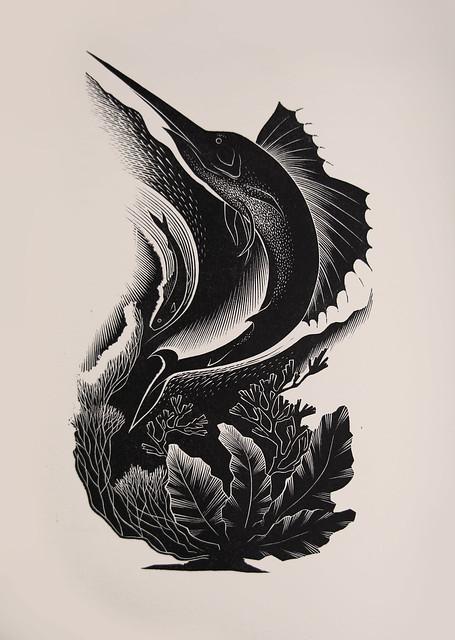 Paul Landacre - Wood Engraving for Donald Culross Peattie's