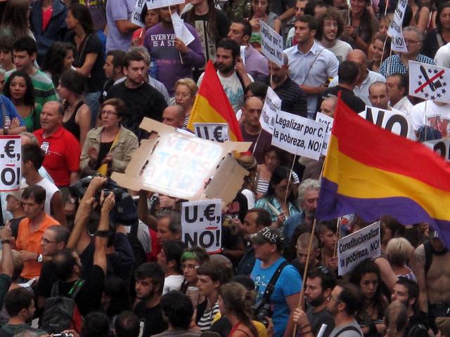 Madrid August 2011 Demonstrations #2