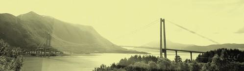 sea norway mare panoramica norvegia møreogromsdal panoramicview gjemnes bergsøya gjemnessundbrua gjemnessundbridge