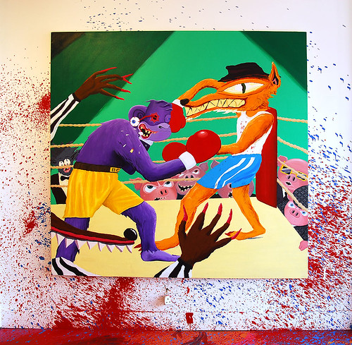 BURNING CANDY ROWDY AND MIGHTY MO COLLABORATION - TONYS GALLERY | by Tonys Gallery