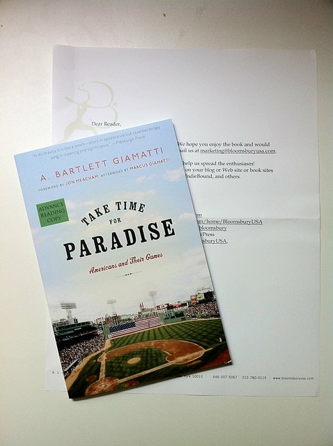 Take Time for Paradise by A. Bartlett Giamatti
