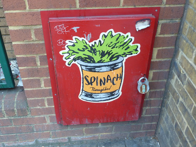 Spinach!