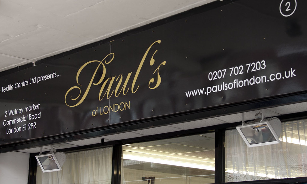 Paul's of London fabric shop Watney Market | The best fabric