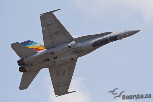 CF-18 from 409 Sqn Nighthawks | by Henry_Lo
