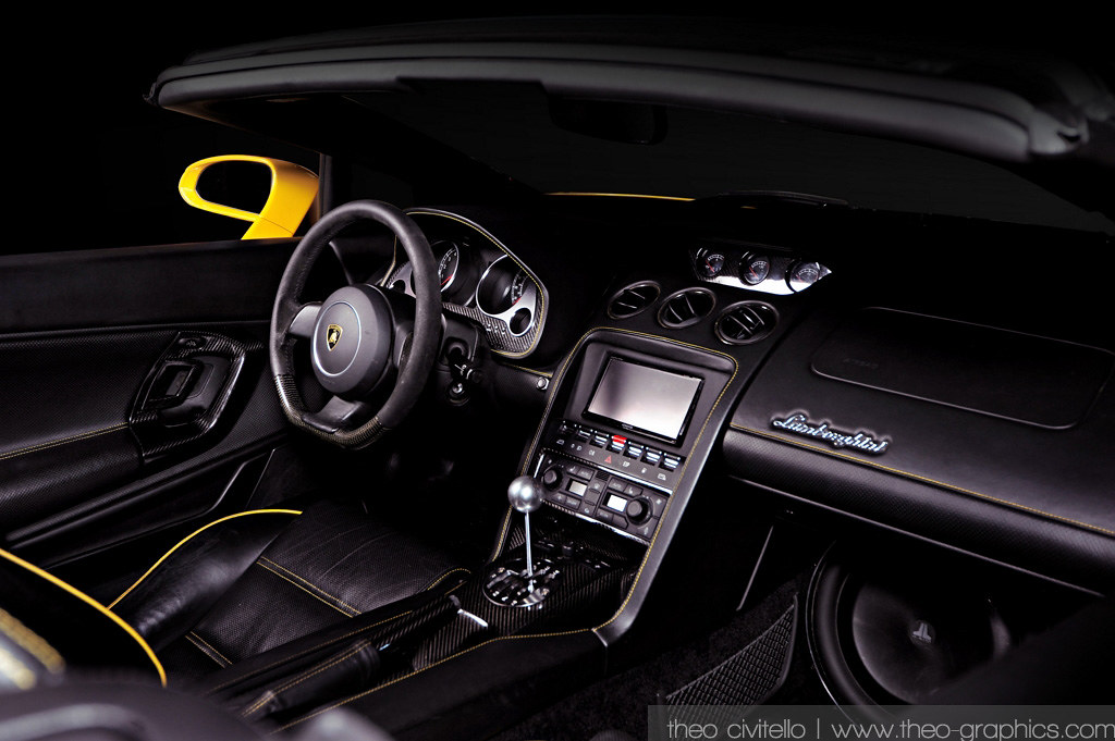 2006 Lamborghini Gallardo Spyder Side Interior Read The Flickr