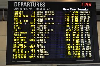 LAX Departure Board | by Raymond June